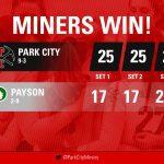 Girls Varsity Volleyball Defeats Payson 3-0 in Region 8 Play