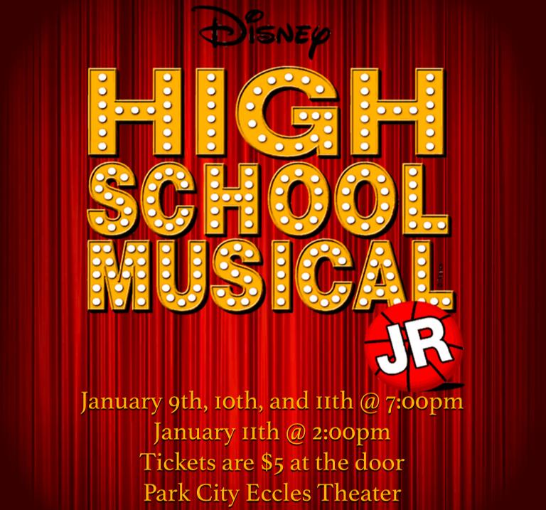 This Week! High School Musical Jr!