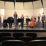 Chamber Choir Receives Excellent Ratings at Competition
