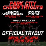 2021-22 Cheerleading Tryouts March 30-April 1