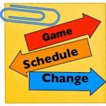 9/29 Varsity Game Time