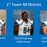 Congratulations to 1st Team All District Football Selections