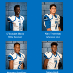 Congratulations 2nd Team All District Football Selections