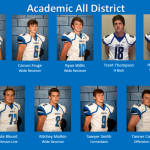 Congratulations Academic All District Football Selections