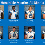 Congratulations Honorable Mention All District Football Selections