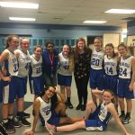 Spring Hill Girls 7th Grade Basketball defeats Chapel Hill Junior High School 25-24