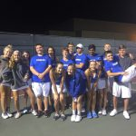 SH Varsity Tennis vs Kilgore Hs Results