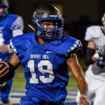 Spring Hill High School Varsity Football beat Emory Rains 77-26
