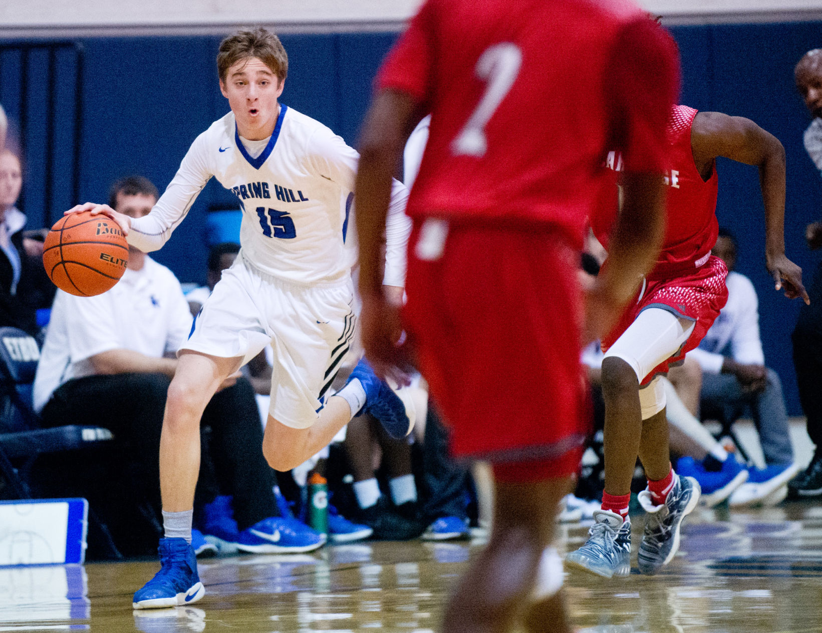 ET Basketball: SH's Caron, Ender earn top honors in District 15-4A