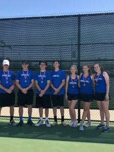 JV District Tennis