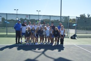 Tennis Varsity Regional Finals against Midlothian