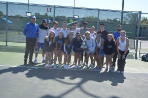 Team Tennis Regional Finals against Midlothian