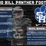 2019 Spring Hill Football Camp