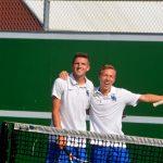 Varsity Team Tennis vs Whitehouse