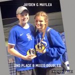 Winners from Kilgore Varsity Tennis Tournament