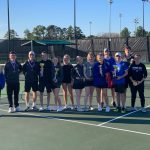 Varsity Tennis Team wins 1st place at Eastman Tournament