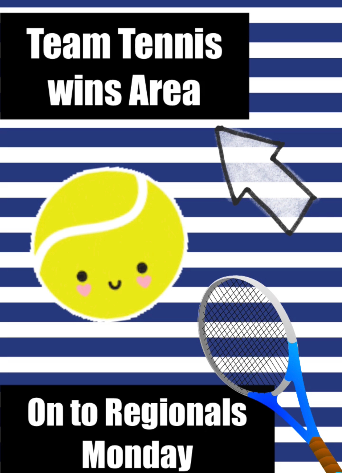 Team Tennis wins Area against Van