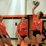 Mineral Ridge High School Girls Varsity Volleyball falls to Crestview HS – Columbiana 3-0