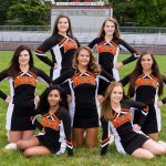 2015 Fall Cheerleaders