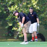 Mineral Ridge High School Boys Varsity Golf falls to Jackson-Milton Local High School 187-168
