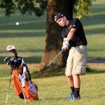 Mineral Ridge High School Boys Varsity Golf beat Chalker High School 210-214