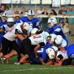 Mineral Ridge High School Varsity Football falls to Lisbon High School 0-34