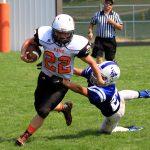 Mineral Ridge High School Junior Varsity Football falls to Lisbon High School 14-30