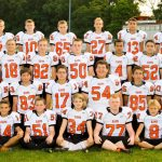 Mineral Ridge Middle School Football falls to Lowellville High School 14-22