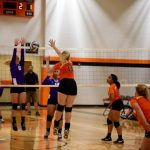 Mineral Ridge High School Girls Junior Varsity Volleyball falls to Sebring 1-2