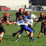Mineral Ridge Middle School Football beat Jackson-Milton 42-22