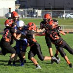 Mineral Ridge Middle School Football falls to Southern Local 12-40