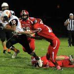Mineral Ridge High School Varsity Football falls to Columbiana High School 7-42