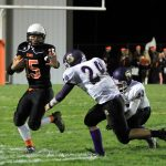 Mineral Ridge High School Varsity Football beat Sebring 26-12