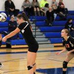 Mineral Ridge High School Girls Varsity Volleyball falls to Lowellville High School 2-3