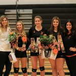 Lady Rams Seniors Play Their Final Home Game of the Year