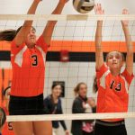 Mineral Ridge High School Girls Varsity Volleyball falls to Western Reserve Local 0-3