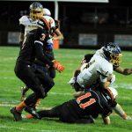 Mineral Ridge High School Varsity Football falls to Mcdonald High School 6-29