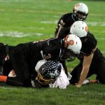 Mineral Ridge High School Junior Varsity Football falls to Mcdonald High School 0-6