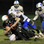 Mineral Ridge High School Varsity Football falls to Jackson-Milton Local High School 7-17