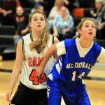 Mineral Ridge Girls 7th Grade Basketball falls to Springfield Local 8-40