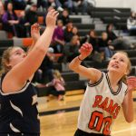 Mineral Ridge Girls 8th Grade Basketball beat Springfield Local 30-24