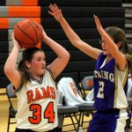 Mineral Ridge Girls 8th Grade Basketball beat South Range 29-12