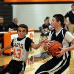 Mineral Ridge Boys 7th Grade Basketball beat Lisbon 57-29