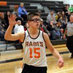 Mineral Ridge Boys 8th Grade Basketball falls to Lisbon 27-52