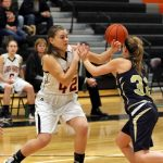 Mineral Ridge High School Girls Varsity Basketball falls to Lisbon High School 33-61