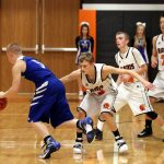 Mineral Ridge High School Boys Junior Varsity Basketball falls to Springfield Local High School 20-53