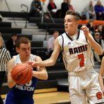 Mineral Ridge High School Boys Varsity Basketball falls to Southington 67-72