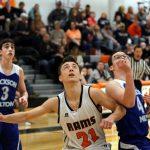Mineral Ridge High School Boys Junior Varsity Basketball falls to Lisbon High School 55-71