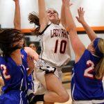 Mineral Ridge High School Girls Varsity Basketball falls to Western Reserve Local 36-48