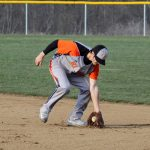 Mineral Ridge High School Varsity Baseball falls to Columbiana High School 10-6